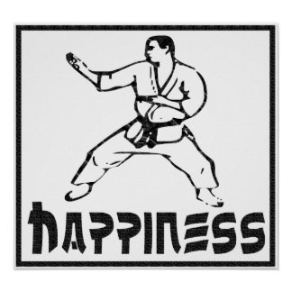 Happiness: Martial Arts Posters