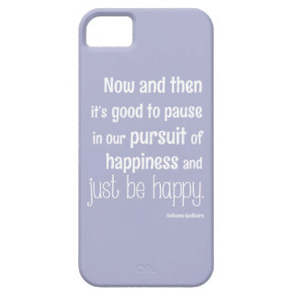Happiness Motivational Quote Barely There iPhone 5 Case