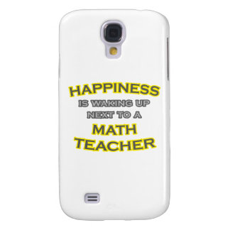 Happiness .. Waking Up .. Math Teacher Galaxy S4 Case