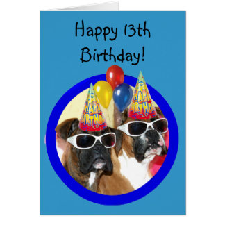 Happy 13th Birthday Cards Invitations Photocards More Happy 13 Birthday Wishes