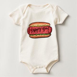 Happy 4th baby creeper