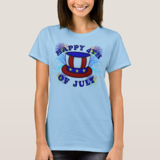 Happy 4th July Crackers T-Shirt