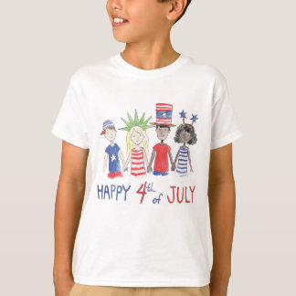 Happy 4th July Independence Day T-Shirt
