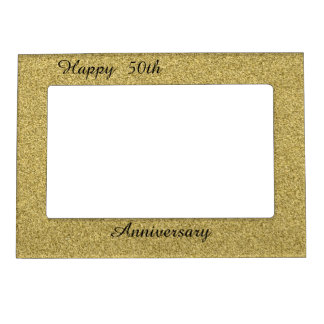 Happy 50th Anniversary Magnetic Frames