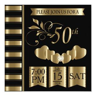 Happy 50th Golden Wedding Anniversary Card