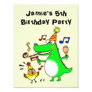 Happy 5th Birthday ( I am 5 ) 11 Cm X 14 Cm Invitation Card