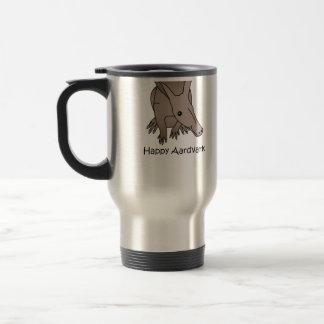 Happy Aardvark Coffee Mugs
