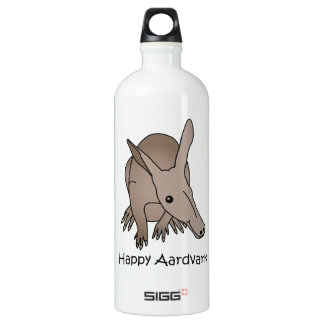 Happy Aardvark Water Bottle