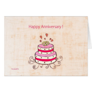 Happy Anniversary ! Card