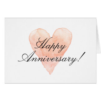 Happy Anniversary Day cards with romantic heart