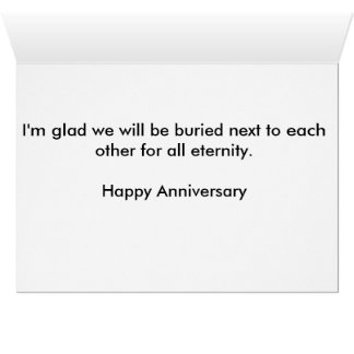 Happy Anniversary Morbid Card
