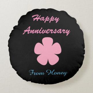 Happy anniversary pillow