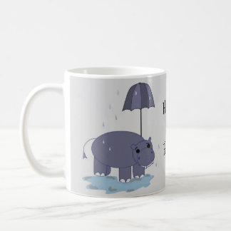 Happy as a Hippo Coffee Mug