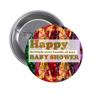 Happy BABY SHOWER :  Artistic Script n Decorations Pin