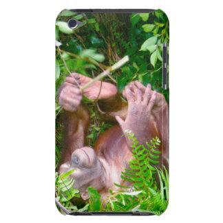 Happy Baby Yoga Pose Orangutan iPod Touch Case-Mate Case