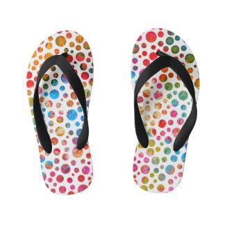 Happy Balls - Flip Flops Colored Dots For Kids