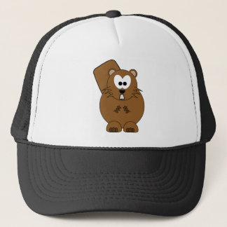 Happy Beaver Trucker Hat