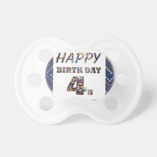 Happy Birthday 4th Text Dummy