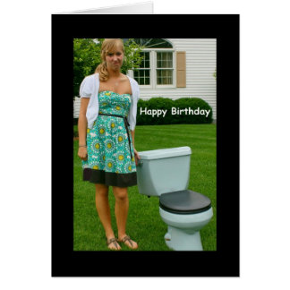 """""""Happy Birthday And All That Crap"""" Birthday Card"""