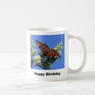 Happy Birthday - Butterfly Mug