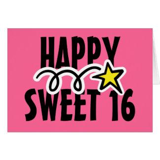 Happy Sweet 16 Birthday Greeting Cards Zazzle Co Nz Happy Birthday Wishes Sweet 16