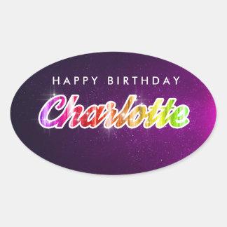 Happy Birthday Charlotte Sticker