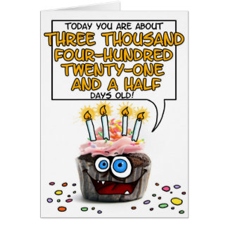 Happy birthday 9 year old greeting cards zazzle happy birthday cupcake 9 years old card bookmarktalkfo Images