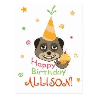 Happy Birthday design Postcard