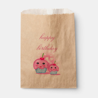 happy birthday favour bags
