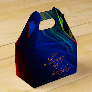 Happy Birthday Gift Box Favour Boxes