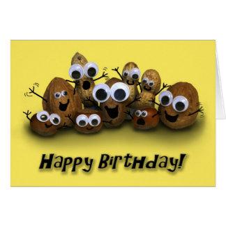 Happy Birthday Go Nuts Card