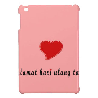 happy birthday indonesia cover for the iPad mini