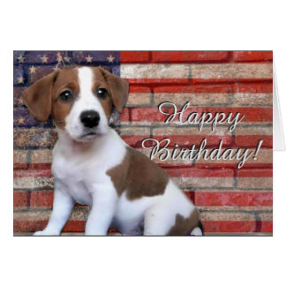 Happy jack russell greeting cards zazzle happy birthday jack russell terrier greeting card bookmarktalkfo Image collections