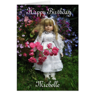 Happy Birthday Michelle Card