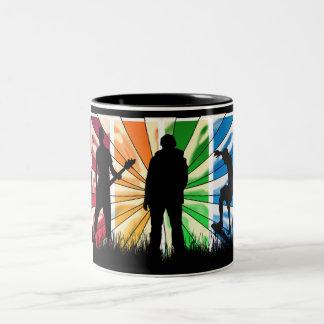 Happy Birthday modern male Mug