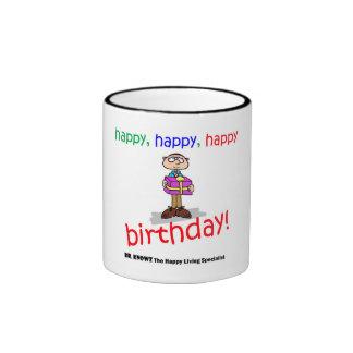 Happy Birthday Mug! Ringer Mug