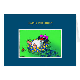 Happy Birthday Penguin Card