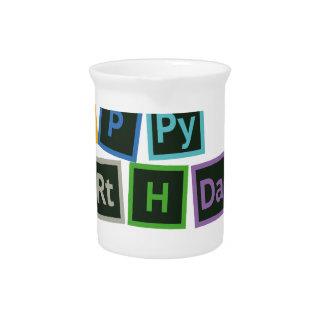 Happy Birthday Periodic Pitcher