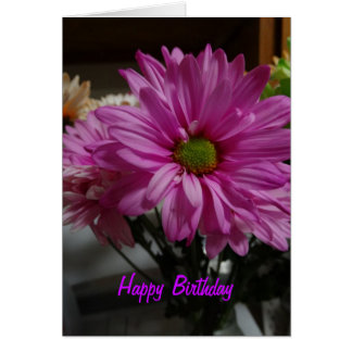 Happy Birthday, Pretty Lady, Flowers Greeting Card