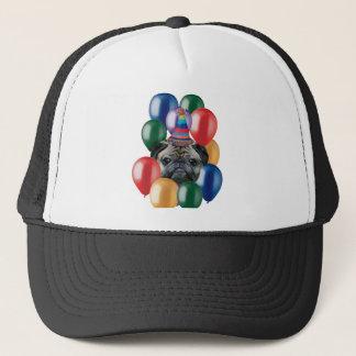 Happy birthday Pug dog Trucker Hat