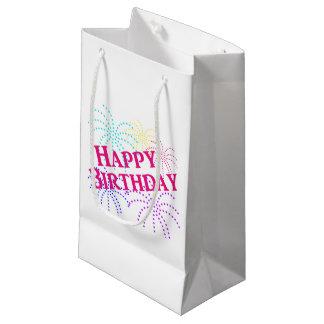 Happy Birthday Star Fireworks Gift Bag
