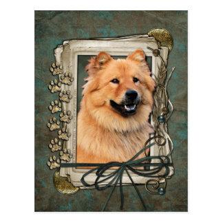 Happy Birthday - Stone Paws - Chow Chow - Cinny Postcard