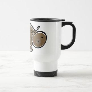 Happy Cartoon Hippo Travel Mug
