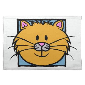 HAPPY CAT ( orange ) Placemat
