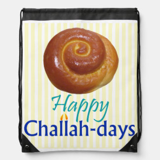 Happy Challah-days Backpack