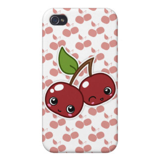 Happy Cherry iPhone Case iPhone 4 Covers