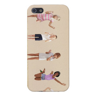 Happy Children in a Day Care or Daycare Center iPhone 5 Case
