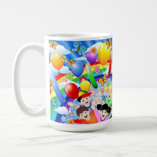 Happy Children's Birthday Mug