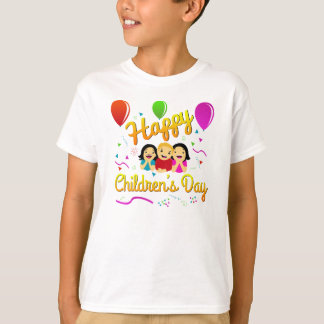 Happy Children's Day Kids T shirt