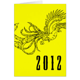 happy chinese new year : year of the dragon card